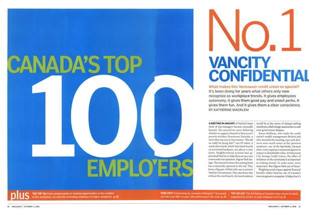 Article Preview: No.1 VANCITY CONFIDENTIAL, October 2004 | Maclean's