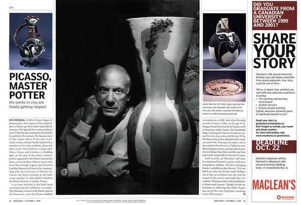 Article Preview: PICASSO, MASTER POTTER, October 2004   Maclean's