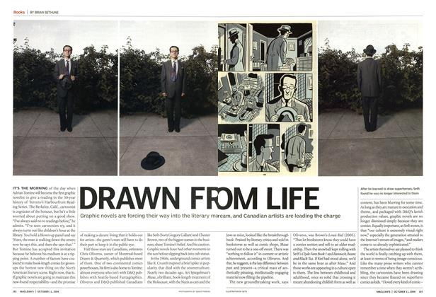 Article Preview: DRAWN FROM LIFE, October 2004 | Maclean's