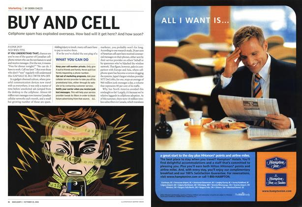 Article Preview: BUY AND CELL, October 2004 | Maclean's
