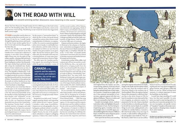 Article Preview: ON THE ROAD WITH WILL, October 2004 | Maclean's