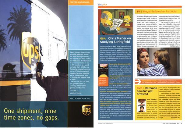 Article Preview: TV, October 2004 | Maclean's