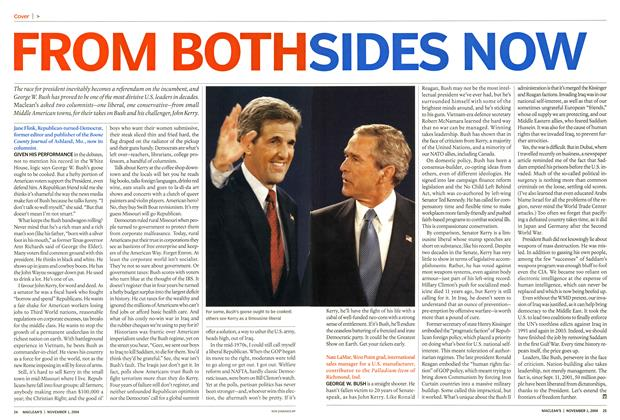 Article Preview: FROM BOTH SIDES NOW, November 2004 | Maclean's