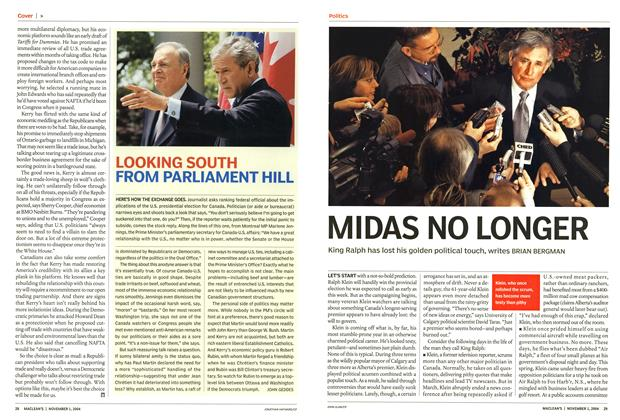 Article Preview: MIDAS NO LONGER, November 2004 | Maclean's