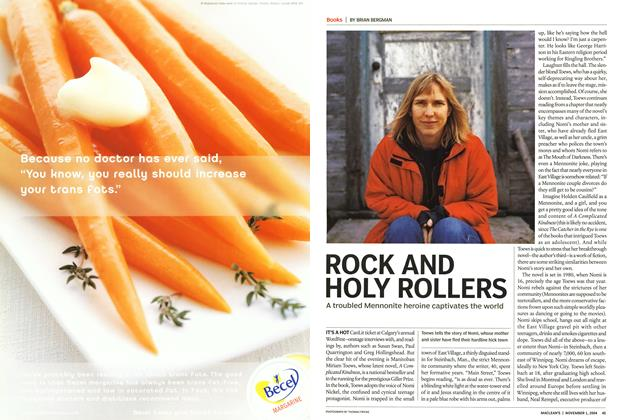 Article Preview: ROCK AND HOLY ROLLERS, November 2004 | Maclean's