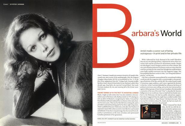 Article Preview: Barbara's World, November 2004 | Maclean's
