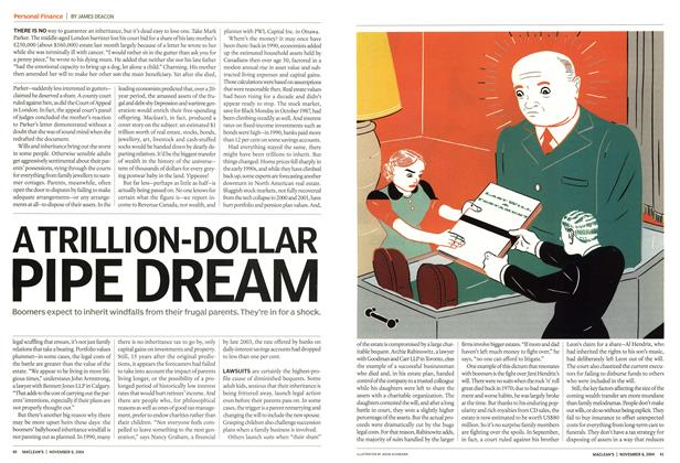 Article Preview: A TRILLION-DOLLAR PIPE DREAM, November 2004 | Maclean's