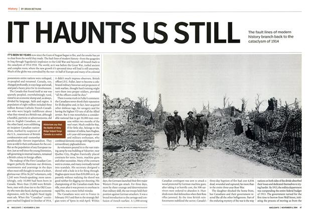Article Preview: IT HAUNTS US STILL, November 2004 | Maclean's