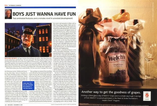 Article Preview: Advertisement, November 2004 | Maclean's