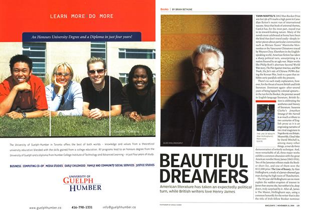 Article Preview: BEAUTIFUL DREAMERS, November 2004 | Maclean's