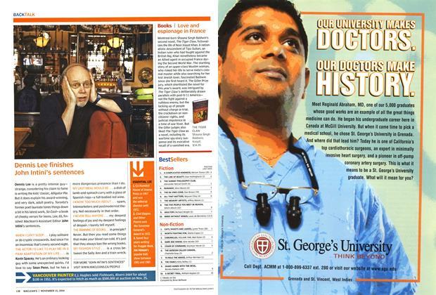 Article Preview: Best sellers, November 2004   Maclean's