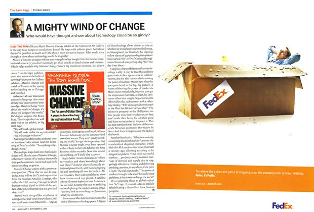 Article Preview: A MIGHTY WIND OF CHANGE, November 2004 | Maclean's