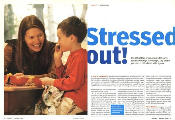 Article Preview: Stressed out!, November 2004 | Maclean's