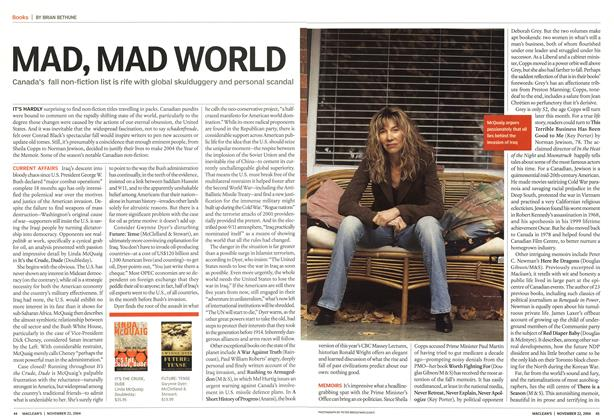 Article Preview: MAD, MAD WORLD, November 2004 | Maclean's
