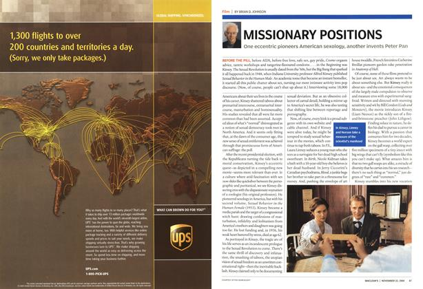 Article Preview: MISSIONARY POSITIONS, November 2004 | Maclean's