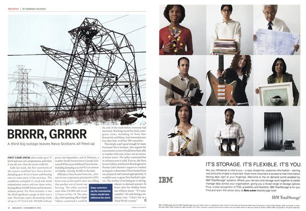 Article Preview: BRRRR, GRRRR, November 2004 | Maclean's