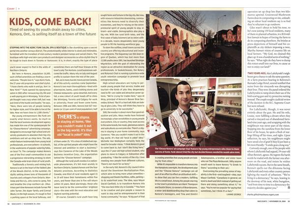 Article Preview: KIDS, COME BACK!, November 2004 | Maclean's