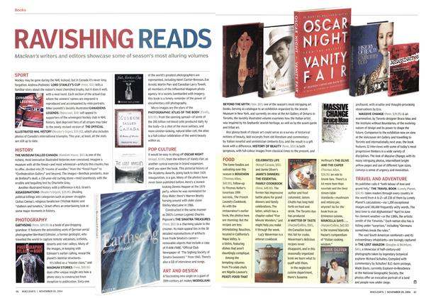 Article Preview: RAVISHING READS, November 2004 | Maclean's