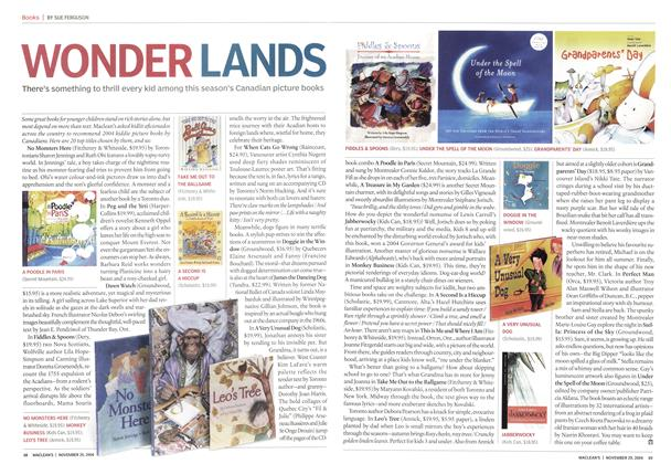 Article Preview: WONDER LANDS, November 2004 | Maclean's