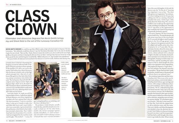 Article Preview: CLASS CLOWN, November 2004 | Maclean's