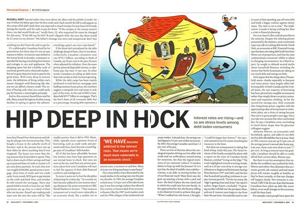 Article Preview: HIP DEEP IN H OCK, December 2004 | Maclean's