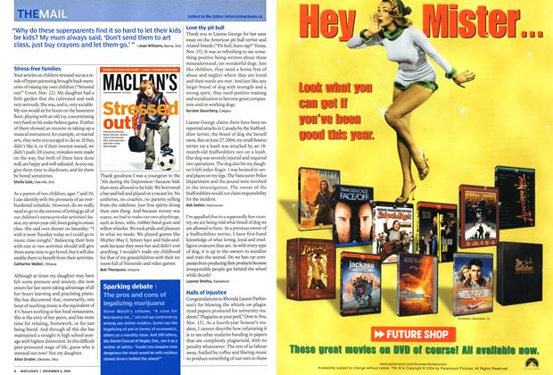 Article Preview: THE MAIL, December 2004 | Maclean's