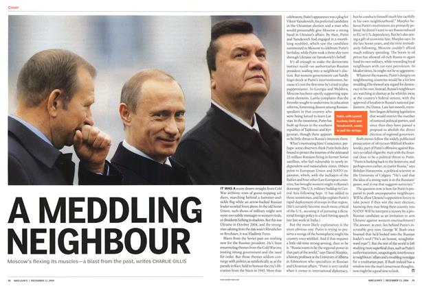Article Preview: A MEDDLING NEIGHBOUR, December 2004 | Maclean's