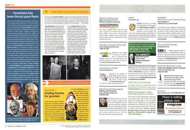 Article Preview: TV, December 2004 | Maclean's