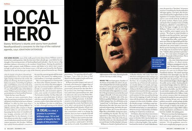 Article Preview: LOCAL HERO, December 2004 | Maclean's