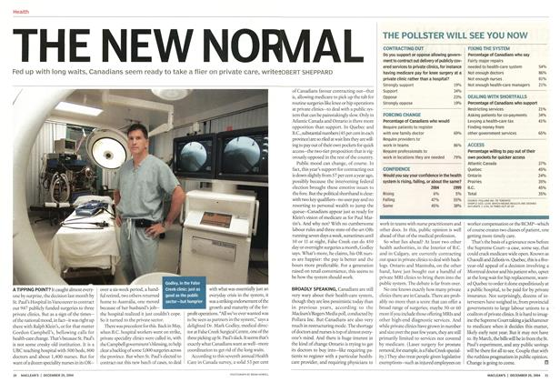 Article Preview: THE NEW NORMAL, December 2004 | Maclean's