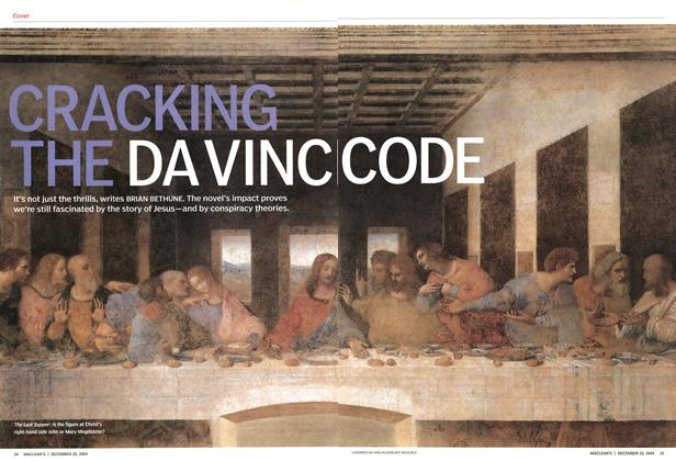 Article Preview: CRAKING THE DA VINCI CODE, December 2004 | Maclean's