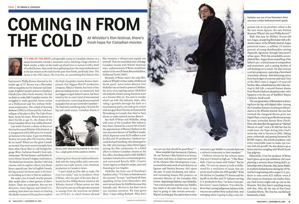 Article Preview: COMING IN FROM THE COLD, December 2004 | Maclean's