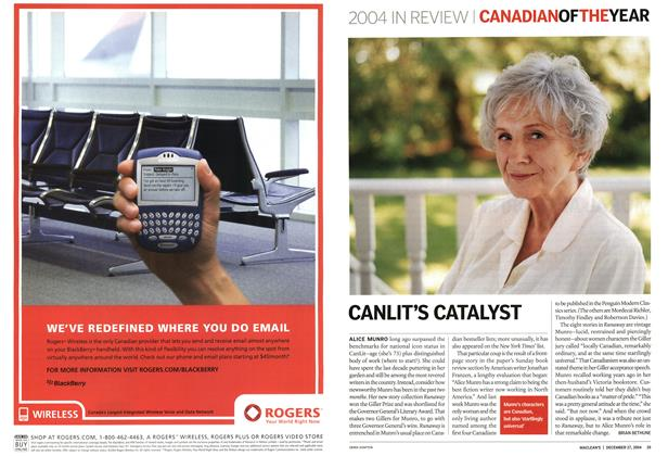 Article Preview: CANLIT'S CATALYST, December 2004 | Maclean's