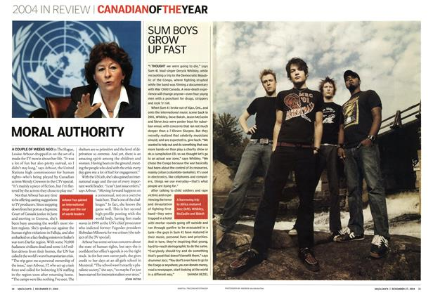 Article Preview: MORAL AUTHORITY, December 2004 | Maclean's