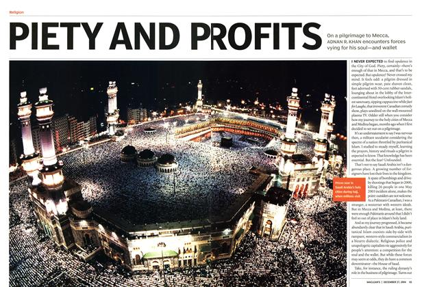 Article Preview: PIETY AND P ROFITS, December 2004 | Maclean's
