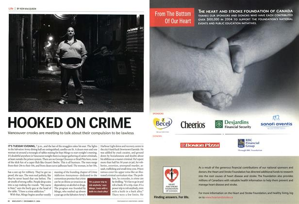 Article Preview: HOOKED ON CRIME, December 2004 | Maclean's