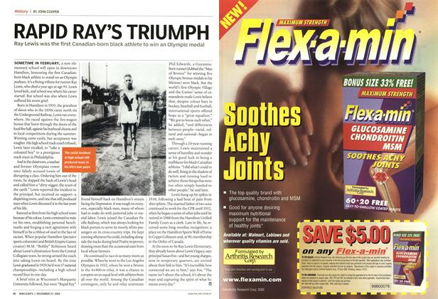 Article Preview: RAPID RAY'S TRIUMPH, December 2004 | Maclean's
