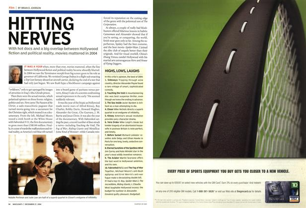 Article Preview: HITTING NERVES, December 2004 | Maclean's