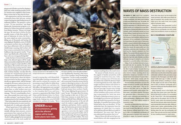 Article Preview: WAVES OF MASS DESTRUCTION, January 10th 2005 | Maclean's