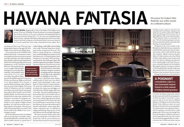Article Preview: HAVANA FANTASIA, January 2005 | Maclean's