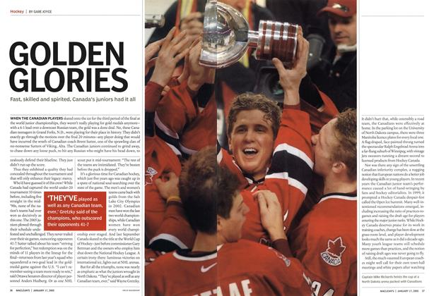 Article Preview: GOLDEN GLORIES, January 17th 2005 | Maclean's