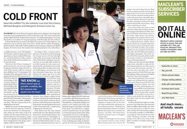 Article Preview: COLD FRONT, January 24th 2005   Maclean's