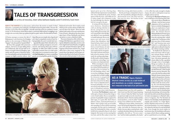 Article Preview: TALES OF TRANSGRESSION, January 24th 2005 | Maclean's