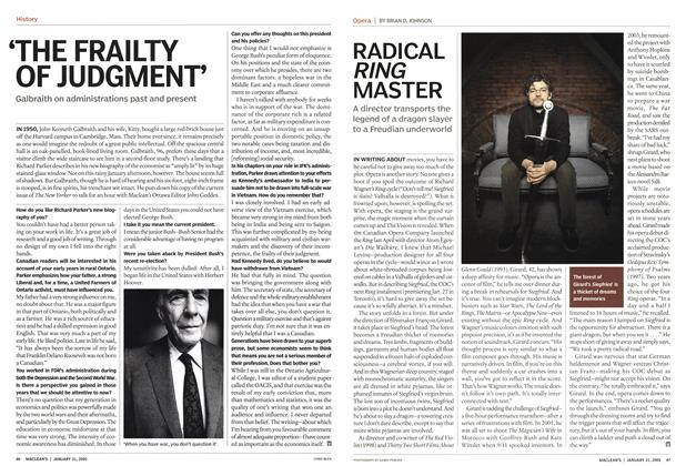 Article Preview: RADICAL RING MASTER, January 31st 2005 | Maclean's