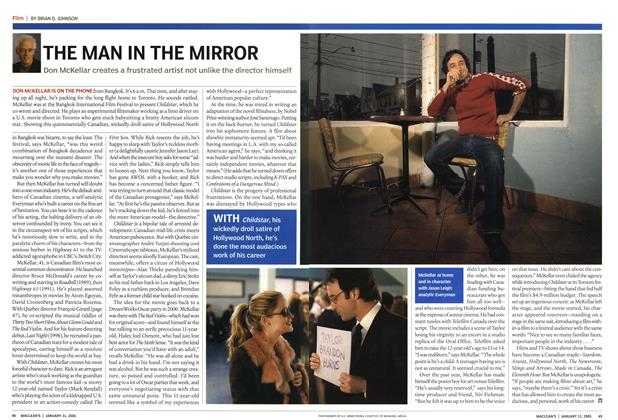 Article Preview: THE MAN IN THE MIRROR, January 31st 2005 | Maclean's