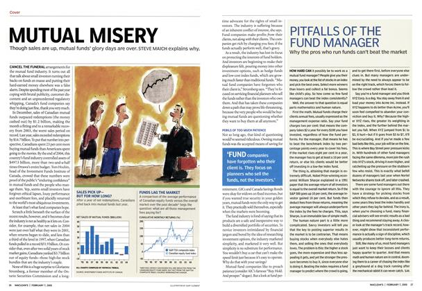 Article Preview: MUTUAL MISERY, February 7th 2005 | Maclean's