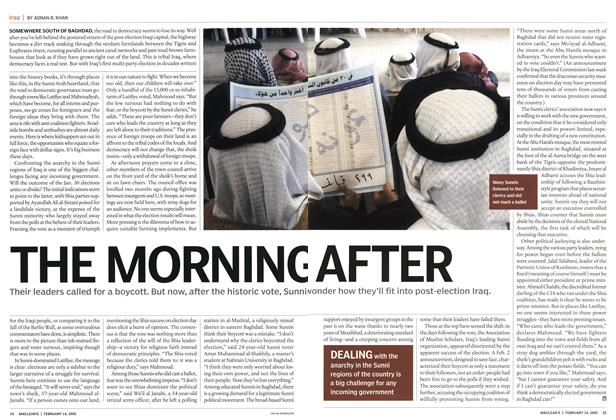 Article Preview: THE MORNING AFTER, February 14th 2005 | Maclean's