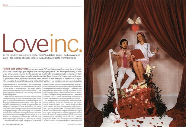 Article Preview: Love inc., February 14th 2005 | Maclean's