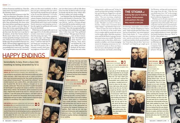 Article Preview: HAPPY ENDINGS, February 14th 2005 | Maclean's