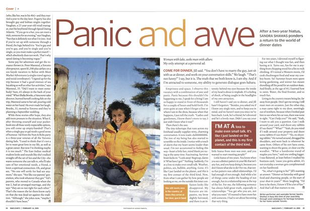 Article Preview: Panic and awe, February 14th 2005 | Maclean's